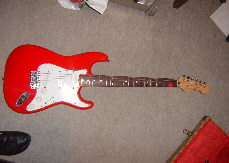 Squier Japan Red